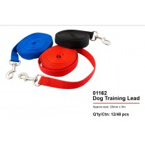 Pets That Play Dog Training Lead - Assorted Colours - 25mm x 5000mm