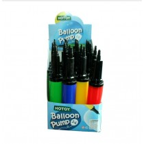 A to Z Double Action Hand Pump for Balloons - Colours May Vary