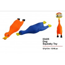 Pets That Play Dog Squeaky Toy - Assorted Colours - 28 x 9cm
