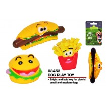 Pets That Play Dog Play Toy - For Small / Medium Dogs - Assorted Shapes