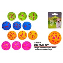 Pets That Play Squeaky Dog Play Toy for Small & Medium Dogs - Assorted Colours