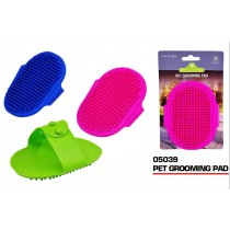 Pets That Play Dog Friendly Pet Grooming Pad - 12.5 x 10cm - Assorted Colours