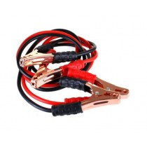 JAK 600A Brass Core PVC Coated Jump Lead - Black/Red - 2.5m