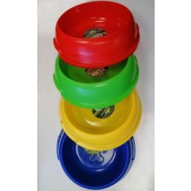 Pets That Play Dog Feeding Bowl - Assorted Colours - 21.5 x 6.5cm