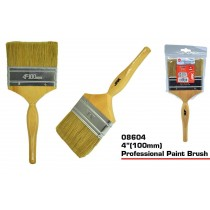 JAK Professional Paint Brush with Wooden Handle - 4""