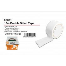 JAK Permanent Adhesive Double Sided Tape - 4.8cm x 10m