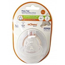 Mamma Flexy Teat With Slow Flow - Pack Of 2