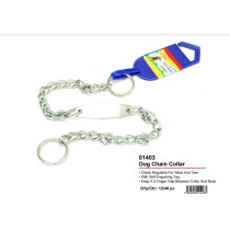 Dog Chain Collar - 48cm