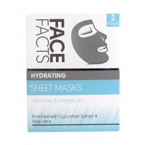 Face Facts Hydrating Sheet Masks - Pack of 2