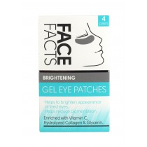 Face Facts Brightening Gel Eye Patches - Pack of 4