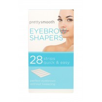 Pretty Smooth Quick & Easy Eyebrow Shapers - Pack of 28 Strips