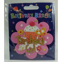 Birthday Badge For Boys And Girls