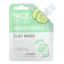 Face Facts Brightening Clay Mask - Cucumber - 60ml