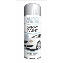 Auto Extreme Spray Paint with Gloss Finish - White Gloss - 250ml
