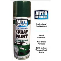 Auto Extreme Professional Spray Paint for Perfect Gloss Finish - Racing Green - 400ml