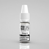 NS Nicotine Shot - 18Mg - 100% VG - 10Ml