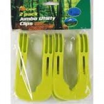 Jumbo Utility Clips - Pack Of 2