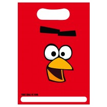 Angry Birds Loot Gift Bags - Pack Of 8