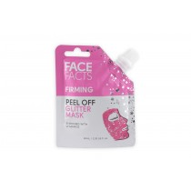 Face Facts Firming Peel Off Glitter Mask - Pink - 60ml