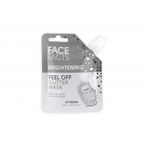 Face Facts Brightening Peel Off Glitter Mask - Silver - 60ml