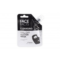 Face Facts Cleansing Peel Off Glitter Mask - Black - 60ml