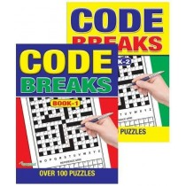 Code Breaks Puzzle Book - 27 x 20cm