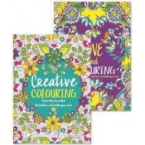 Advanced Creative/Love Colouring Book - 29.5 x 21cm