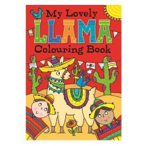 My Lovely Llama Colouring Book - 27 x 19.5cm - 0% VAT