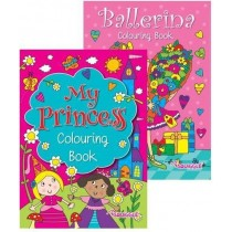 My Princess Colouring Book - 27 x 19.5cm