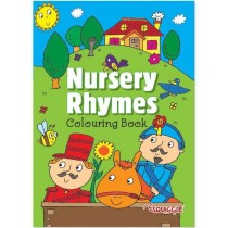 Nursery Rhymes Colouring Book - 29.5 x 21cm