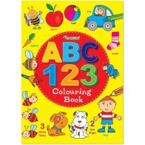 ABC/123 Colouring Book - 29.5 x 21cm
