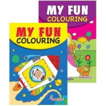 My Fun Colouring Book - 21 x 14.5cm