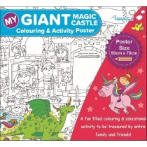 My Giant Colouring & Activity Poster - 99cm x 70cm - Assorted Designs