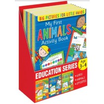 My First Children Animals / Words / Opposites Activity Book - 0% VAT