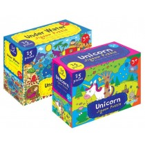 Unicorn / Underwater Jigsaw Puzzle - 25 pieces - 35 x 25cm