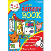 Squiggle A4 All-In-One Activity Book - 29.5 x 21cm