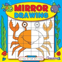 Squiggle Mirror Drawing Activity Book for Little Artists - 21 x 21cm