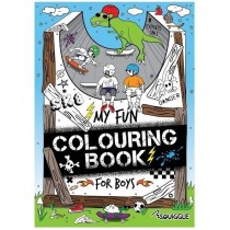 My Fun Colouring Book for Boys - 0% VAT