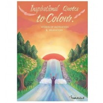 Inspirational Quotes to Colour Colouring Book - 0% VAT