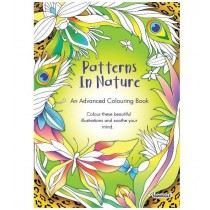 Patterns in Nature Advanced Colouring Book - 0% VAT