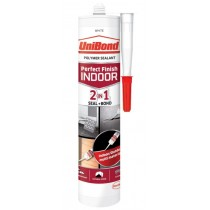 UniBond 2 in 1 - Perfect Finish Seal + Bond - Polymer Sealant - White - 389 Gram - Exp 11/18