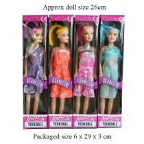 A to Z Isabella Teen Doll - 27cm - Assorted Colours