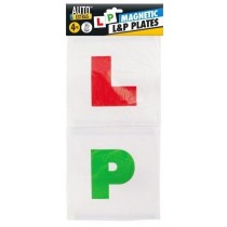 Magnetic  Learner And Pass Plates - Pack Of 4