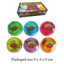 Kids Toy Dino Fossil Putty - 6 Assorted
