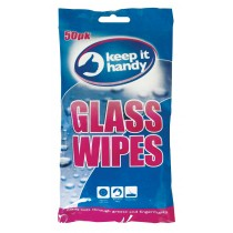 FRAGRANCED GLASS CLEANING WIPES - PACK OF 50