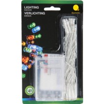 Battery Operated 30 Indoor LED Lights - Multicolour