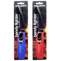 Refillable Electronic Bendy Lighter - Colours May Vary
