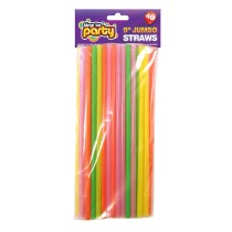 Jumbo Straws - 9 Inch - Pack Of 40