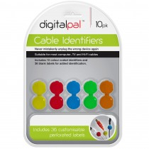 DIGITALPAL CABLE IDENTIFIERS - PACK OF 10