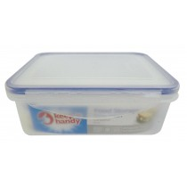 Box Fresh Disposable Food Storage Containers - Clear - 850ml